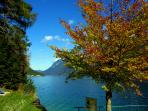 Beautiful colors, excellent hiking and relaxing as well during automn time