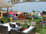 Large Kids playground  with a restorance and pub in 250 meters