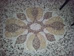 Dettaglio pavimento in graniglia