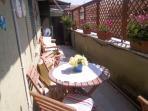 terrazzo per la colazione