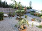 jardin y exteriores