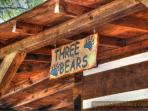 Three Bears sign