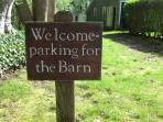 Welcome to The Barn! The driveway parks two cars, and there is free street parking.