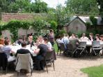 Déjeuner - Séminaire de campagne - La Racaudière - Villandry - Touraine