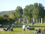 CAMPO DEL SOLE A LATO SPIAGGIA A 800 metri dalla LOGGINA