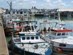 Fishing Fleet at Granville