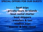 Offer for our guests