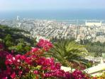 Haifa - mountain and sea