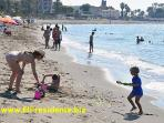 Our beach is great for children of all ages!
