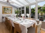 Conservatory for dining