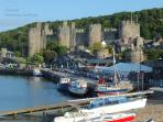 Conwy Quay (enjoy a local ice cream or a drink in the Liverpool Arms)
