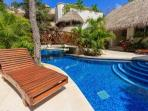 Penthouse Zama - common areas with swimming pool - Tulum vacation rentals