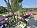Club de tenis, pádel a 5 minutos de la casa que pueden acceder al alojarse en Miramar Sitges!!