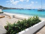 AQUALINA 102...Face the gorgeous Caribbean Sea along one of St. Maartens longetst beaches