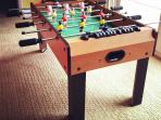 table football with great fun