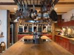 The magnificent, bespoke kitchen where Nikki holds her cookery classes