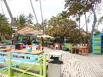 Beach bohio bar 200 yrds from the villa