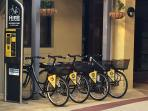 Bike hire available from resort reception
