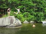 Swimming in the 3rd part, Moose Pond