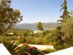 View over Korfos Bay