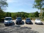 Villa Baiocco cars