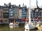 view of honfleur