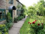 The gardens at Abbotts Cottage are beautifully maintained