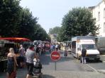 Fontenay le Compte Saturday market. (Just 15 miles south- historical town with lively market)