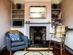 The Snug lounge with Smart TV and Wood Burning Stove