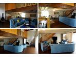 110 m² de salon-séjour-cuisine américaine