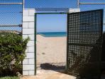salida playa