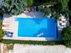 50m2 heated pool