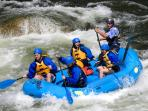 White water rafting is only 20 minutes! An adventure just around the corner.