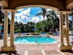 Resort communal pool