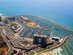 Herzeliya marina & shopping center 800 meters away
