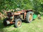 Battered and bruised but Mathilda the Massey still going strong!