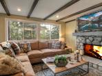 Living Room- Main Level | Fine furnishings & designer details abound