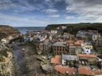 beautiful and unique Staithes