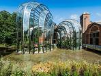Laverstoke Mill, home to Bombay Sapphire for gin tours and tasting 30 minutes away