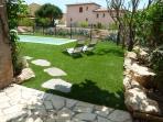 Garden Terrace, Lawn & Pool