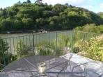 Waterhead Creek from the decked balcony