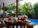 In house breakfast