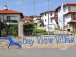 Bay View Villas entrance
