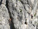 Our area is becoming one of the important destinations for pure rock climbing