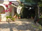 Large secure -ideal for kids- traditional courtyard