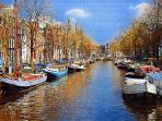 The beautiful Amsterdam is 6 hours sailing, truly one of the most beautiful cities in Europe.