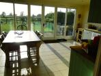 Dairy House Kitchen - stunning views of the country side and sunsets
