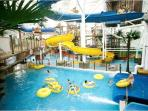 Local water park 25 mins drive