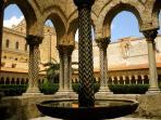Chiostro dei Benedettini -  Benedictine cloister