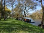 Views of the Loire river twenty miles from the gite - great for a picnic and walk.